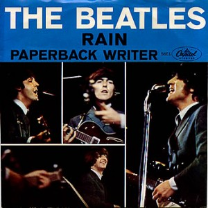 """Although the song was filler for """"Paperback Writer,"""" many fans consider """"Rain"""" the best B-side Beatles song ever."""