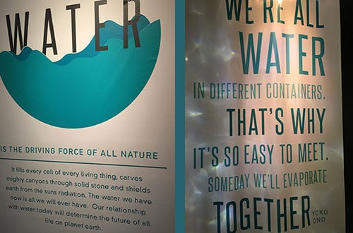 The Leonardo Museum Water Exhibit