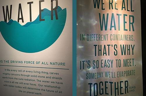 The Leonardo Museum Water Exhibit