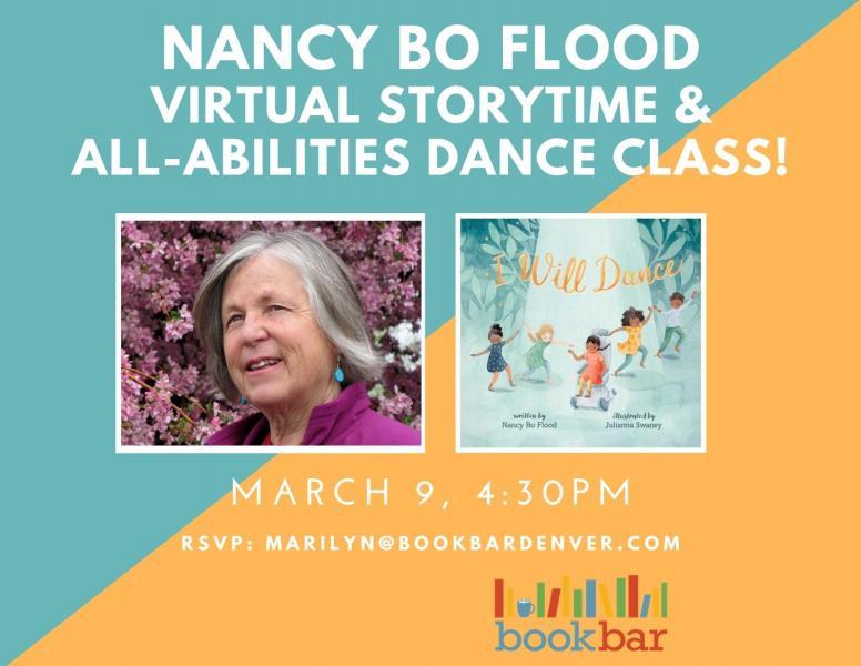 Nancy Bo Flood - Storytime at Bookbar, Denver