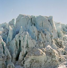 Imagine how many snowflakes it took to create this Greenland glacier. But it all started with ONE...By Jolanta Dudzińska-Pettersen (Own work) [CC BY 2.5 (http://creativecommons.org/licenses/by/2.5)], via Wikimedia Commons