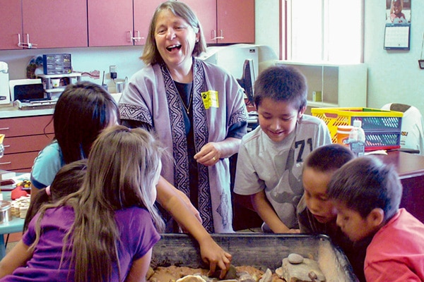 Nancy Bo Flood Teaching