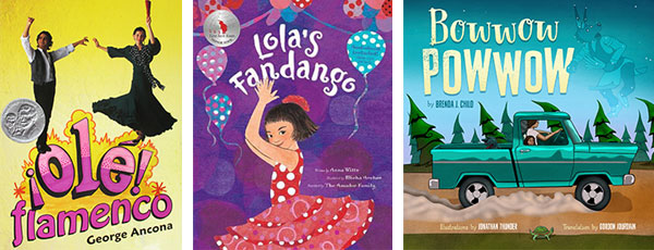 Ole Flamenco, Lola's Fandango, and Bowwow Powwow