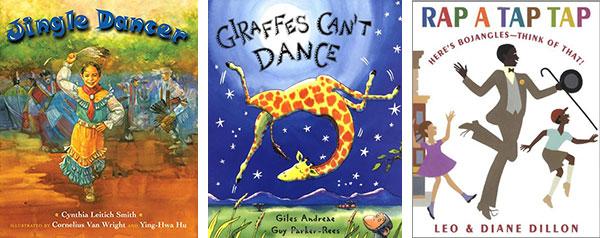 Jingle Dancer, Giraffes Can't Dance, Rap a Tap Tap