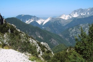 These aren't mere mountains near Carrara, Italy. This is where the famous Italian marble is found! (Photo credit: Eva Schuster/freeimages.com)