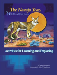 The Navajo Year Workbook by Nancy Bo Flood