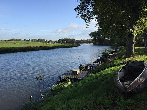 pastoral scene in Amsterdam