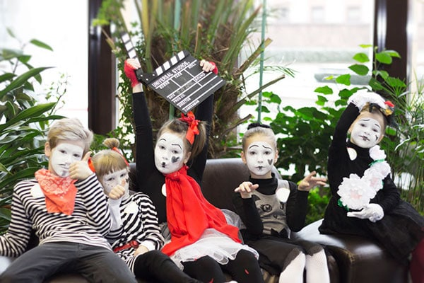young mimes