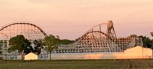Iowa roller coaster