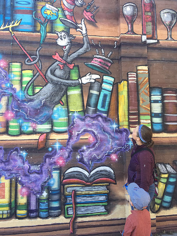 Dr. Seuss Street Mural