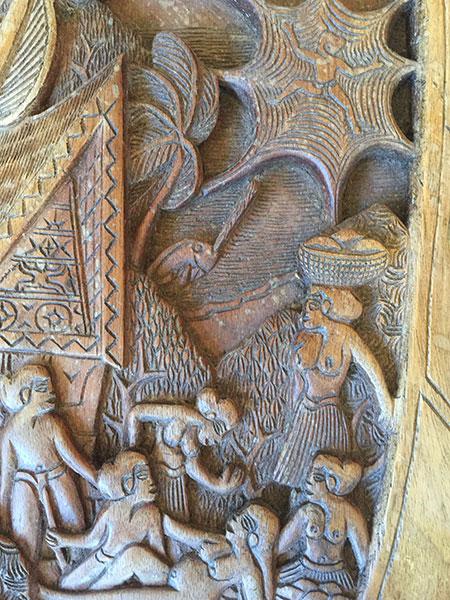 Wood Carving Palau