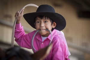 Navajo Rodeo Boy by Jan Sonnenmair